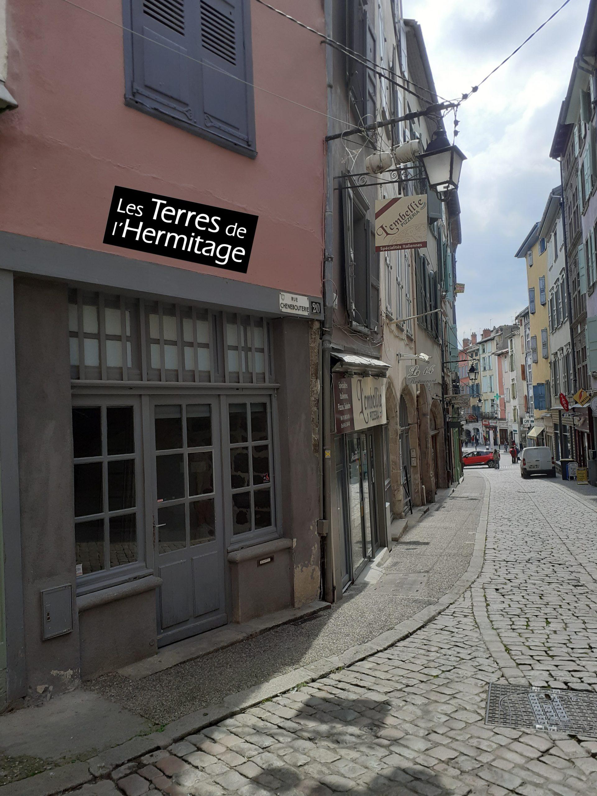 Bientôt Rue Chênebouterie au Puy en Velay